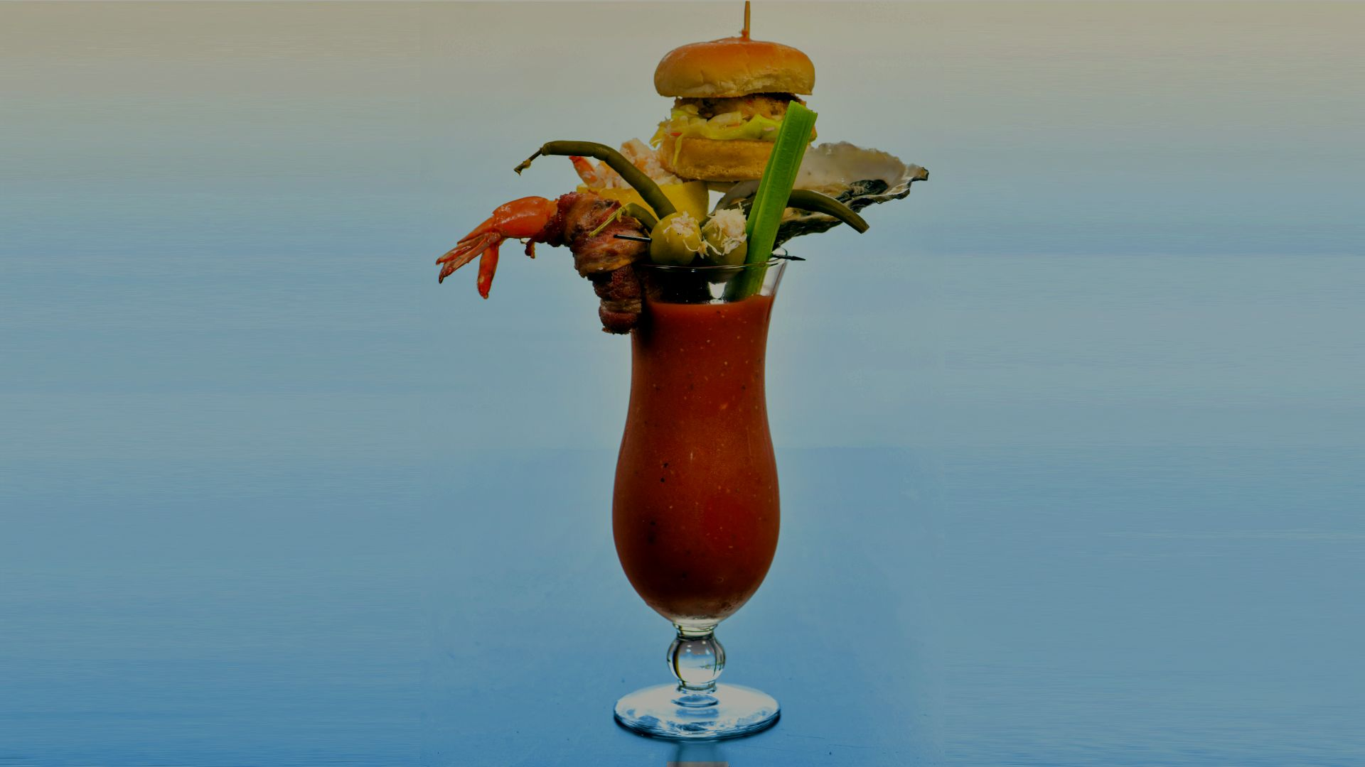 Ultimate Seafood Bloody Mary - The Fish Hopper